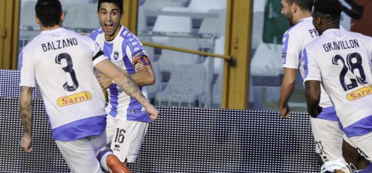 Il Pescara torna al successo contro la Salernitana
